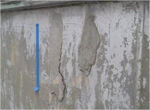 コンクリートの浮き
